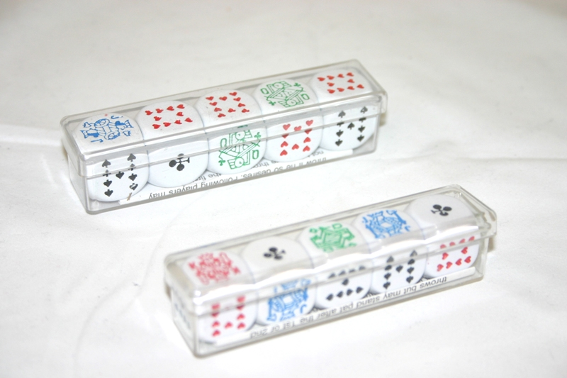 Image of   Longfield Poker Dice 16 mm - 5 stk
