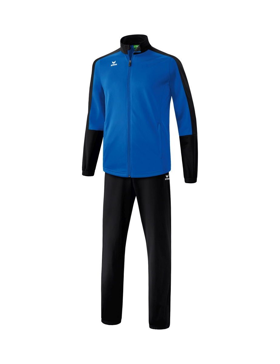 Image of   Erima Toronto 2.0 Polyester Tracksuit Junior - New Royal / Sort - 152