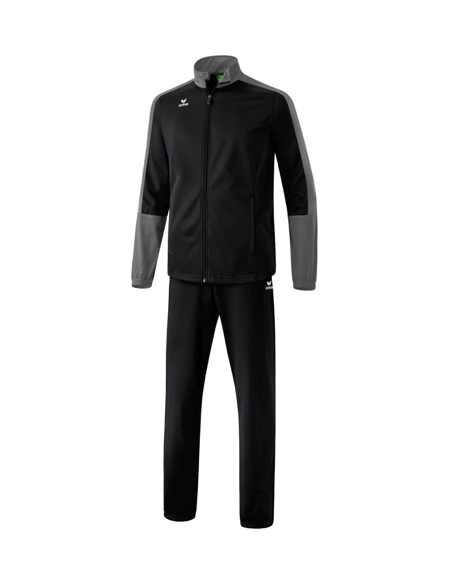 Image of   Erima Toronto 2.0 Polyester Tracksuit Junior - Black / Granit