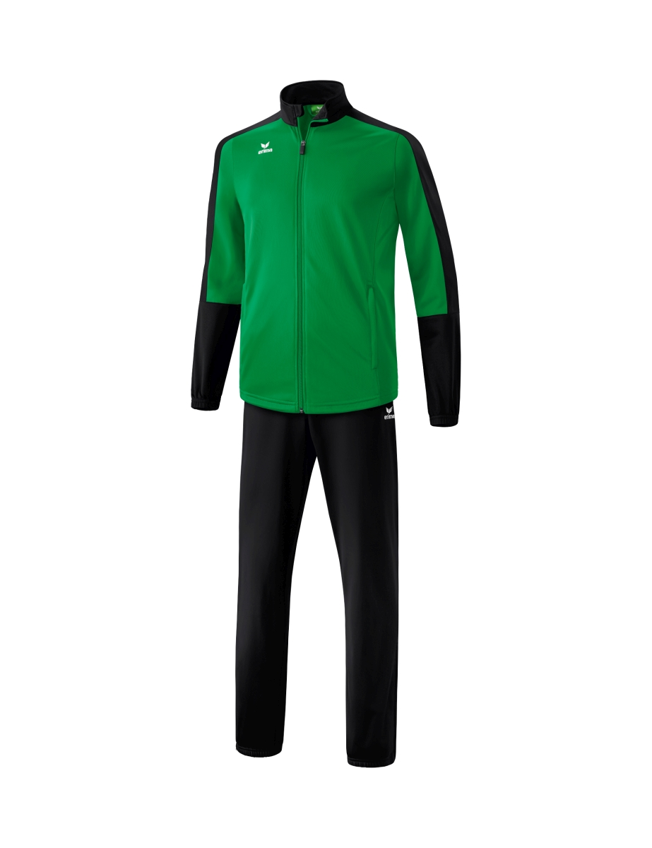Image of   Erima Toronto 2.0 Polyester Tracksuit Senior - Smaragd / Black - 4XL