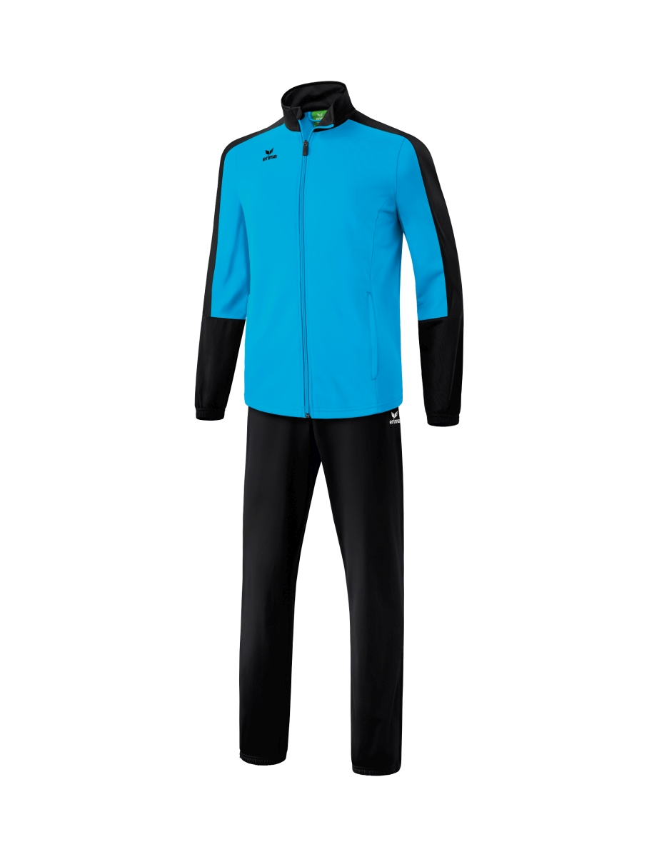 Image of   Erima Toronto 2.0 Polyester Tracksuit Junior - Curacao / Black