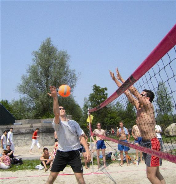 Image of   Beach Volleyball Net Fritid