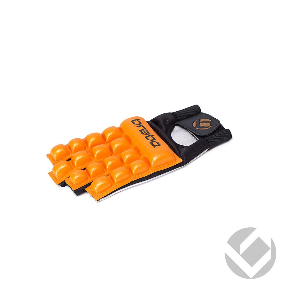 Image of   Brabo F4 Skum Glove Uden Thumb LH - Orange