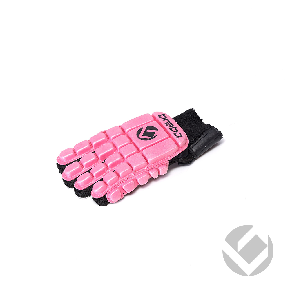 Image of   Brabo F3 Glove Full Finger LH - Pink - L