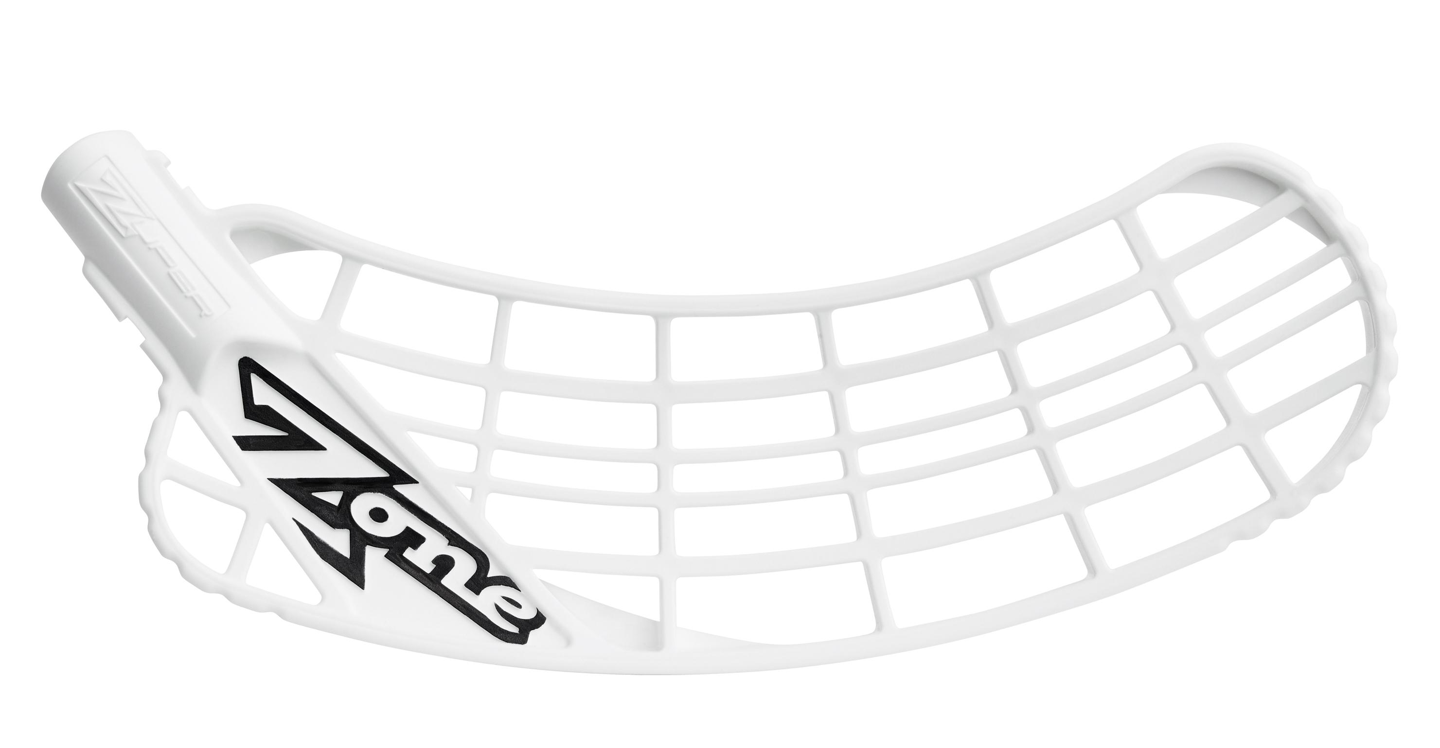 Zone Zuper Blade Medium Air Soft Feel - Hvid - R