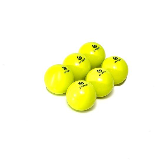 Image of   Brabo Comp Balls Dimple - Neon Yellow