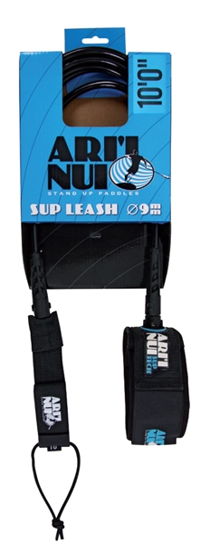 Image of   Ari'Inui Essential snor Lige Sup 9 mm Ankel - 9' - Sort