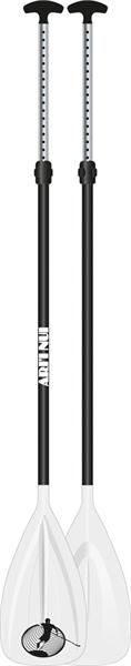 Image of   Ari'Inui Justerbar Paddle polycarbon / Aluminium - 140 - 170 cm - Hvid