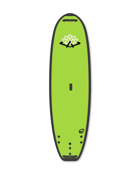 "Image of   Ari'Inui Throgger Soft Line SUP board Soft Top - 9'6"" - Grøn"