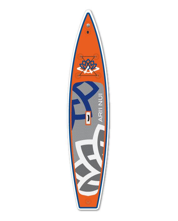 Image of   Ari'Inui Arrow SUP bord Oppustelige - 12' - Orange / Blå