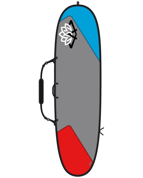 "Image of   Ari'Inui Daybag Sup PE - 10'6"" - Grå / Blå / Rød"