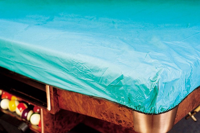 Image of   9 ft Pool Table Cover med Elastic Binding