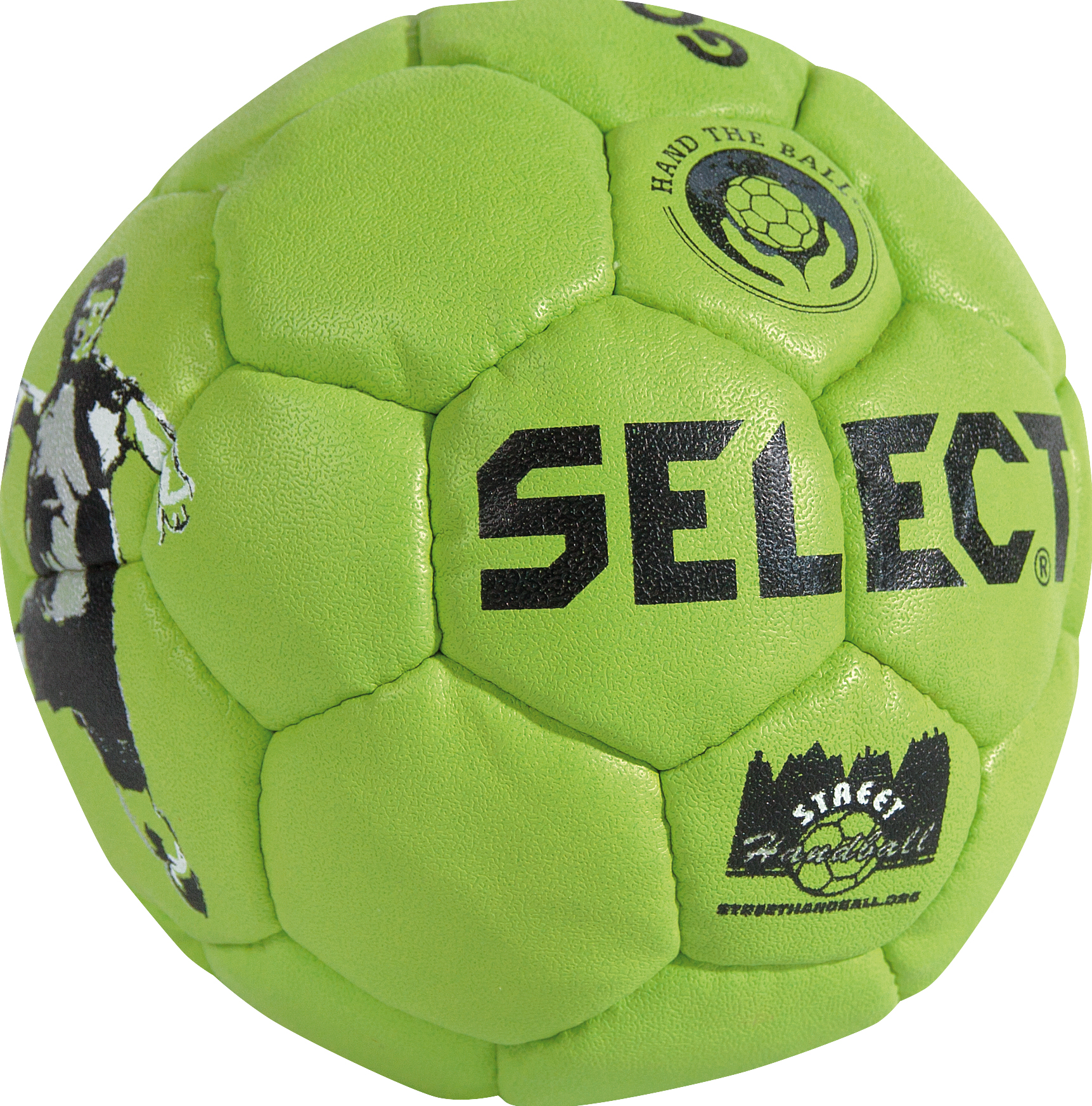 Select Goalcha Street Handball - Grün - 42 cm