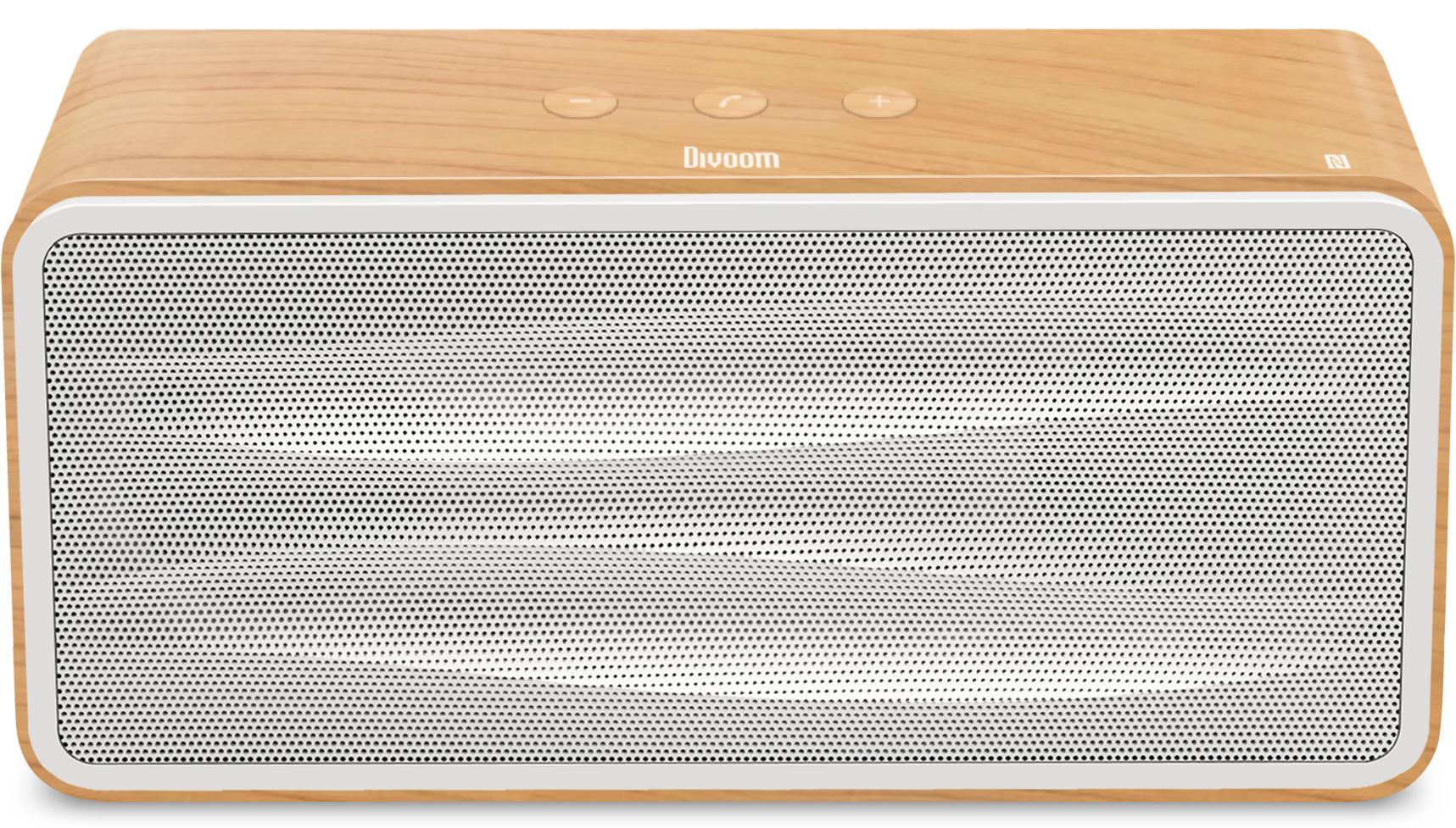 Divoom Onbeat-500 BT 4.0 Wireless Speaker Ivory Wood