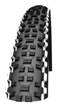 Schwalbe Dæk 26 Schwalbe Racing Ralph LiteSkin 57-559 Folding Tyre - Sort / Hvid