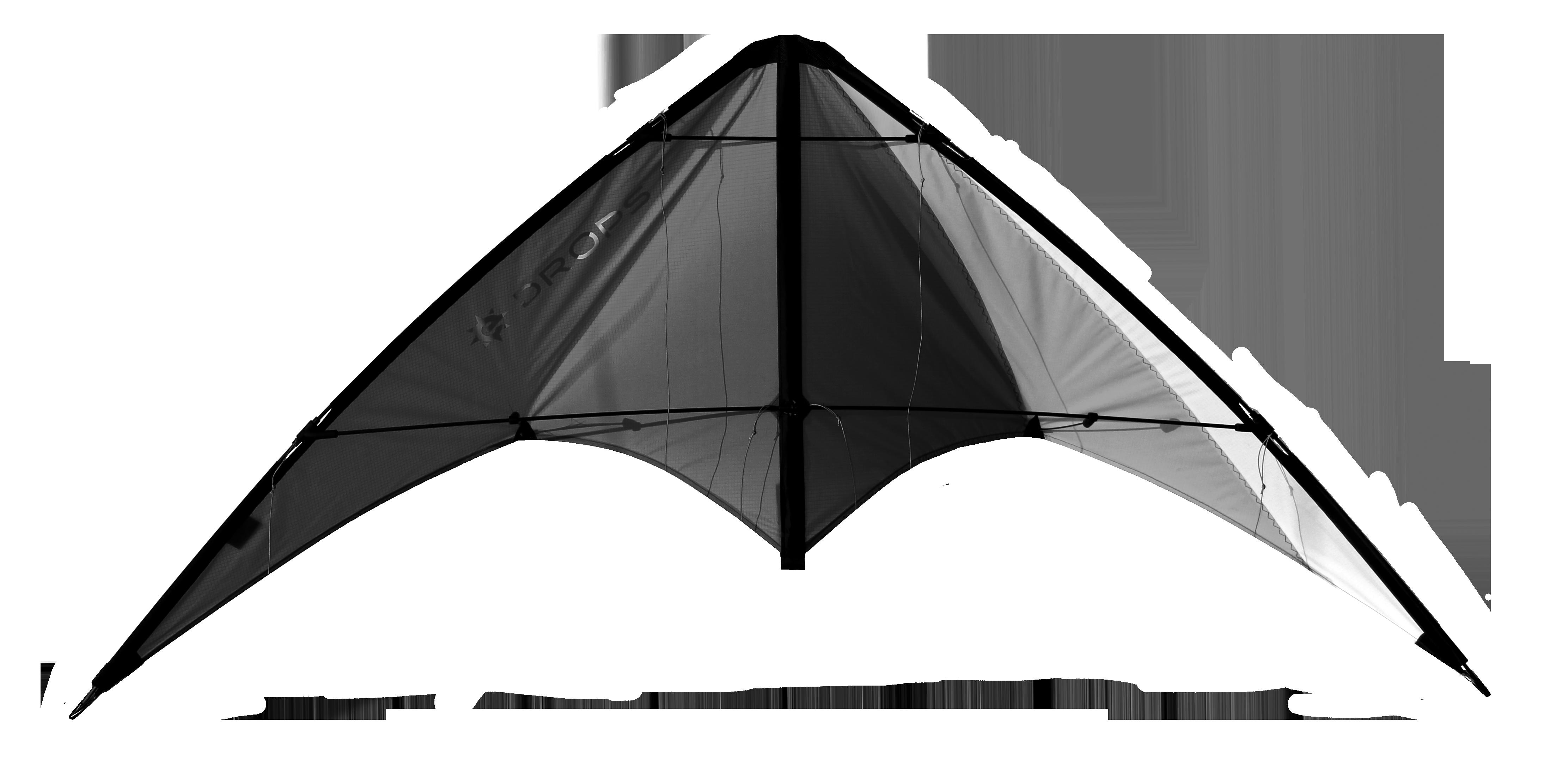 Image of   Elliot Drops Kite - Antraciet / hvid
