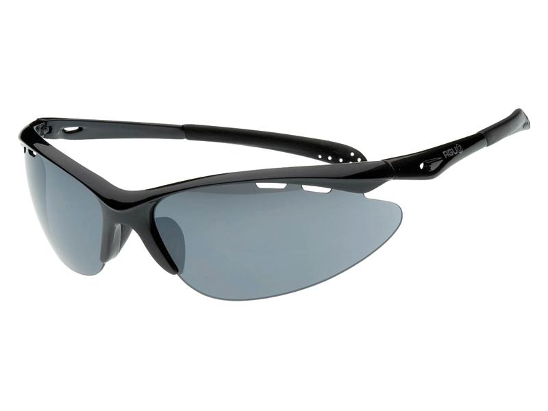 Image of   AGU Takatsu briller sort med røg / trans / orange linser