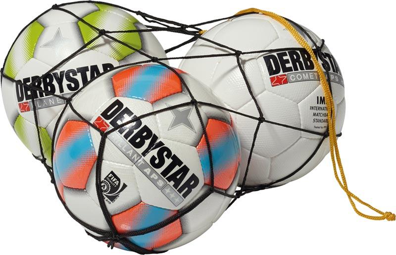 Derbystar Ball Net für 1 Ball - Schwarz