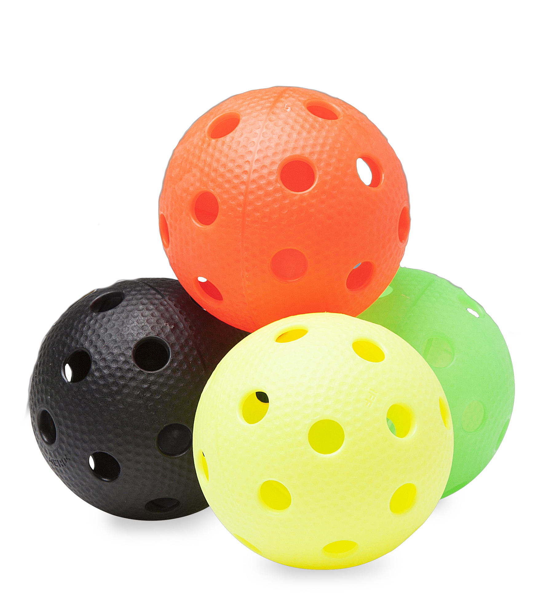 Image of   Salming Aero Plus Floorball 4-pack - Multicolor