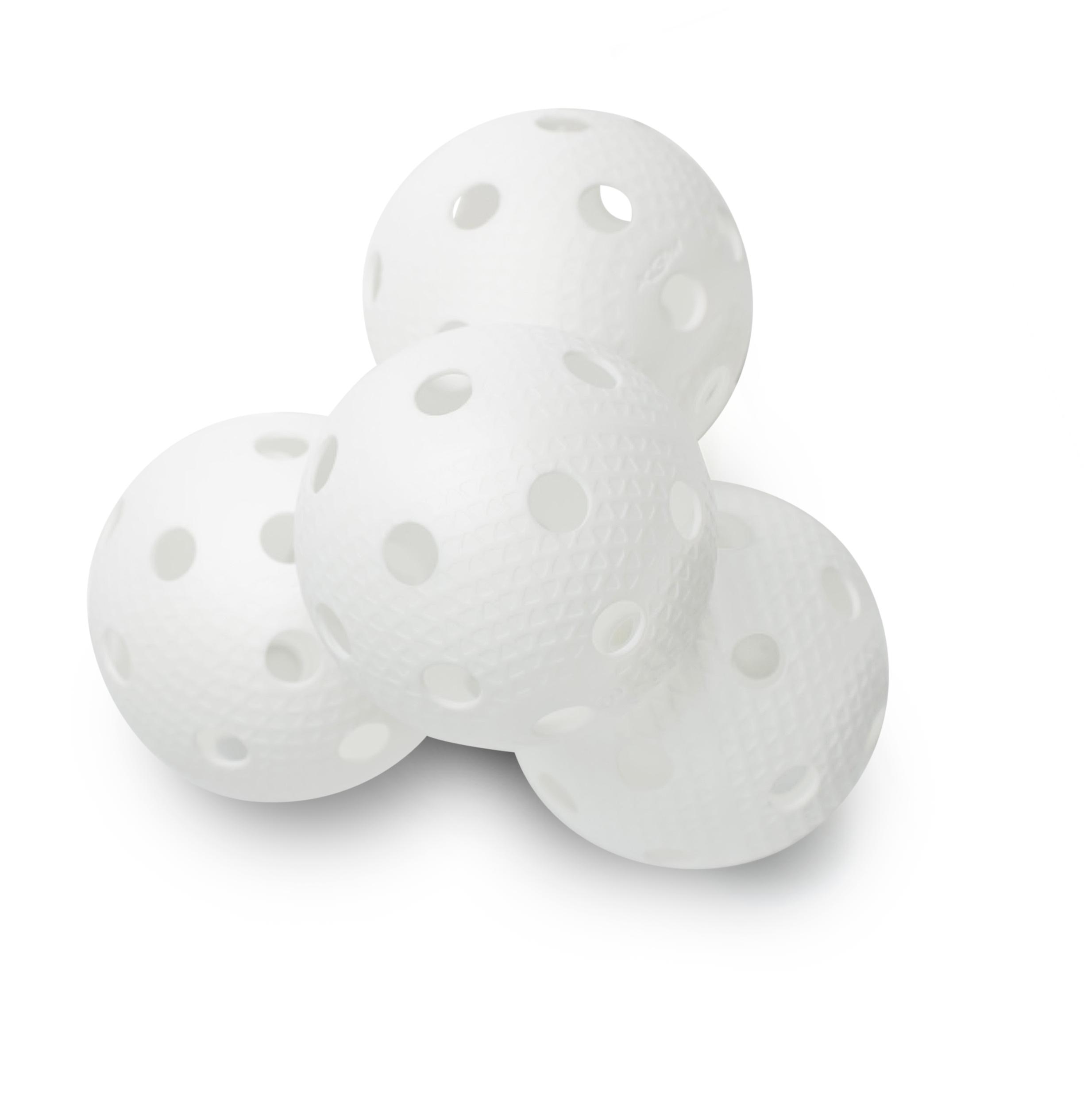 Image of   Salming Aero Plus Floorball 200 stk Box - Hvid