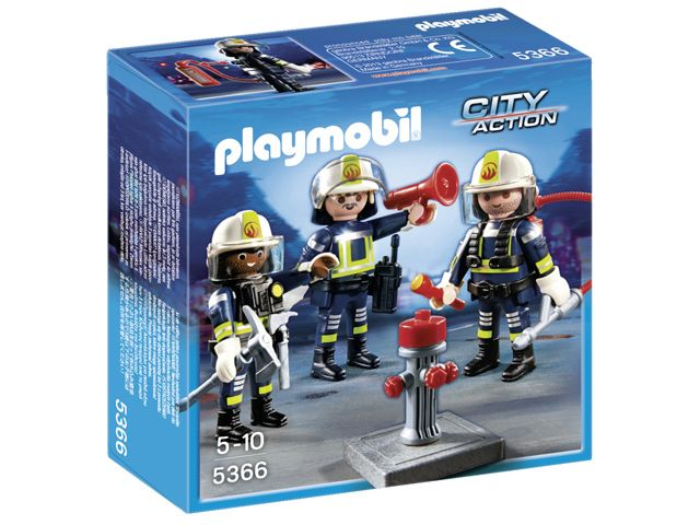 Playmobil City Action Trio Brandweermannen 5366