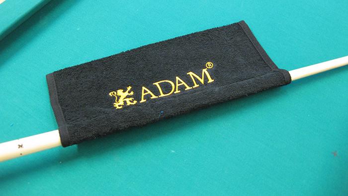 Image of   Adam Cue Håndklæde med Sleeve - Sort