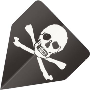 Image of   BULL'S Powerflite Delta Shape - Skull