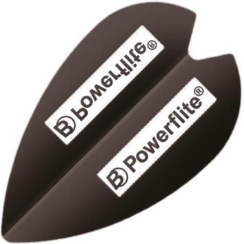 Image of   BULL'S Powerflite Retro Mini Shape - Sort
