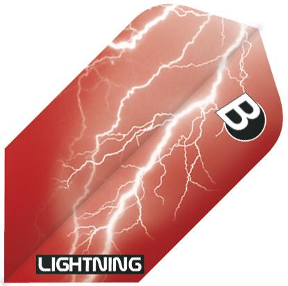 Image of   BULL'S Lightning Slim Shape - Rød