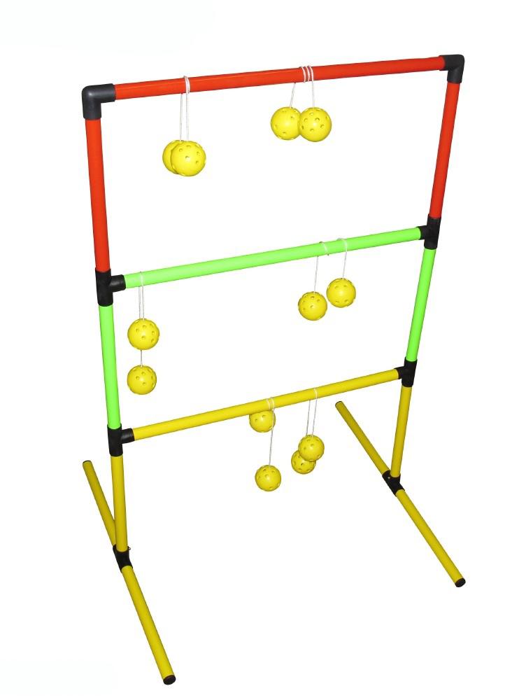 Image of   Ball Toss Frame Set - Sammenfoldelig - med seks kugle sæt