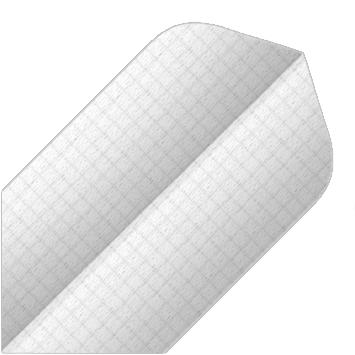 Image of   BULL'S Nylon Fly Slim Shape - Hvid