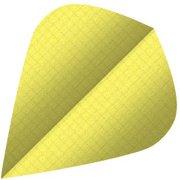Image of   BULL'S Nylon Fly Kite Shape - Yellow