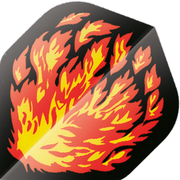 Image of   BULL'S Base Fly Standard A-Shape - Flames