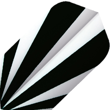 Image of   BULL'S Base Fly Slim Shape - Sort / Hvid
