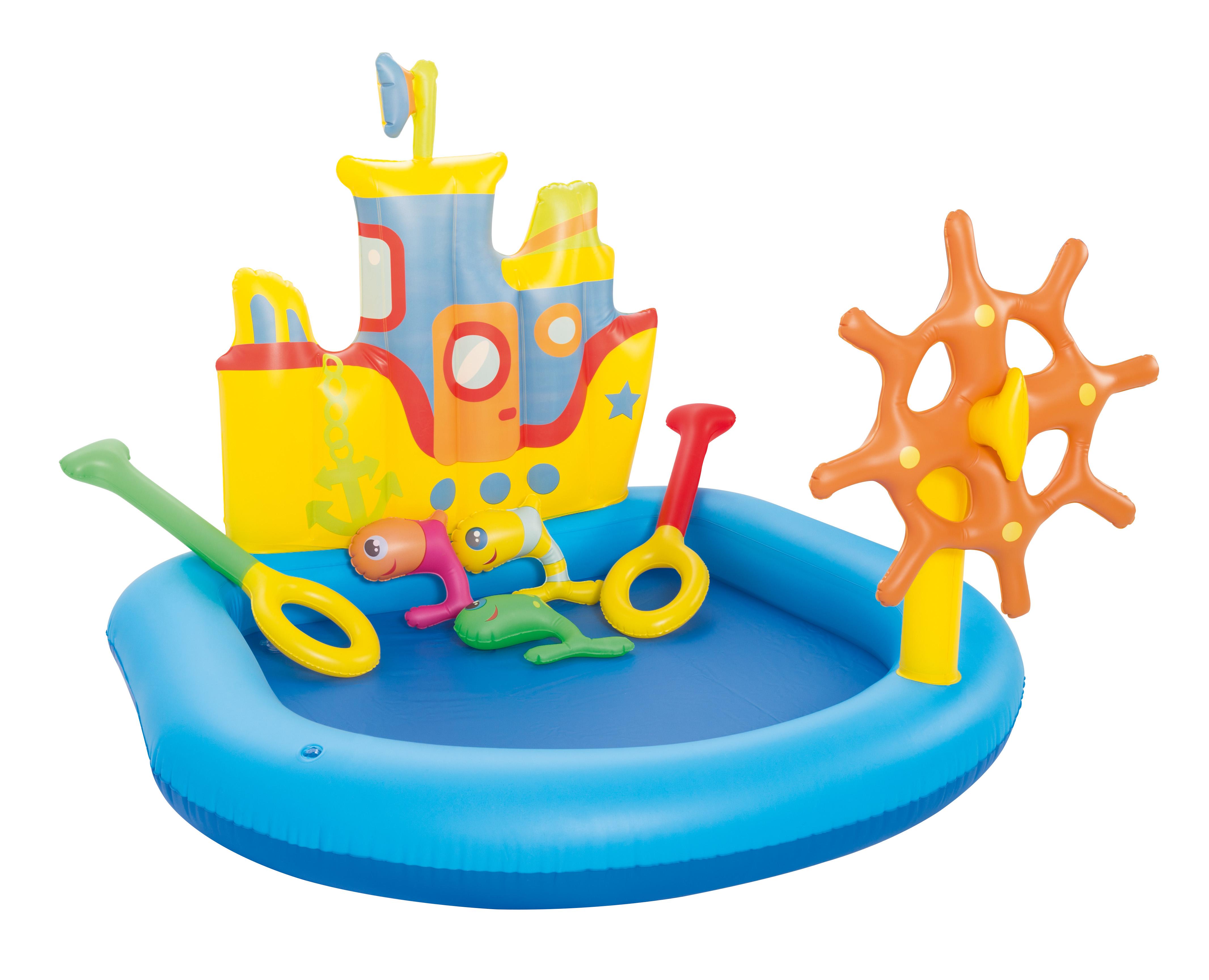 Image of   Bestway Play Boat Børne Play Pool - 140 x 130 cm