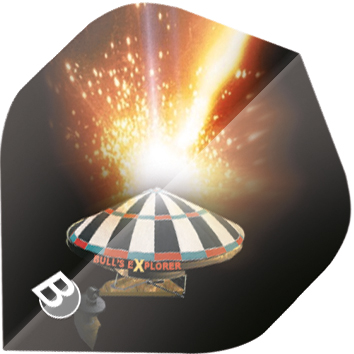 Image of   BULL'S Motex Fly Standard A-Shape - Explosion