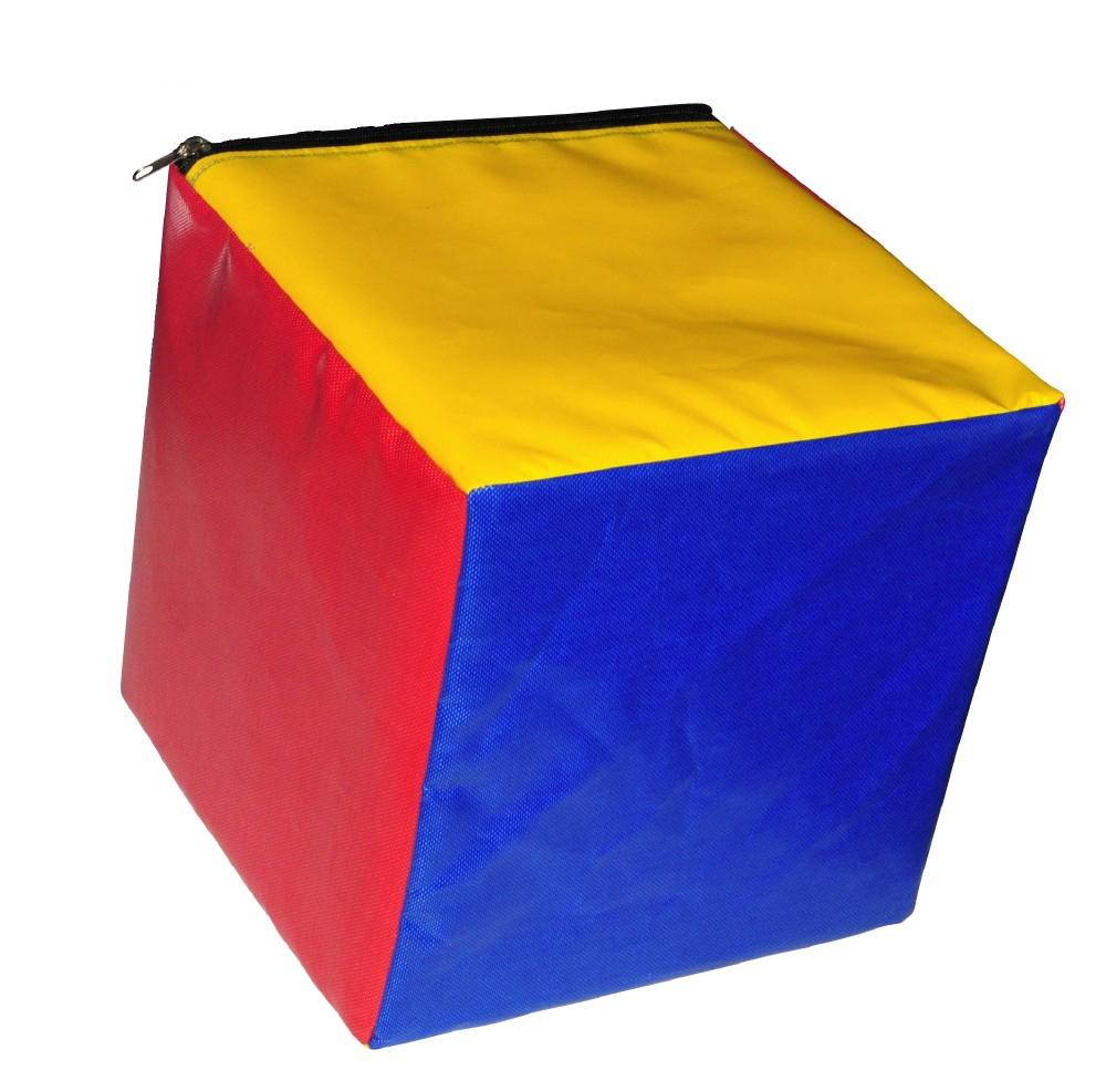 Image of   Skum terning 30 x 30 x 30 cm - Multicolour