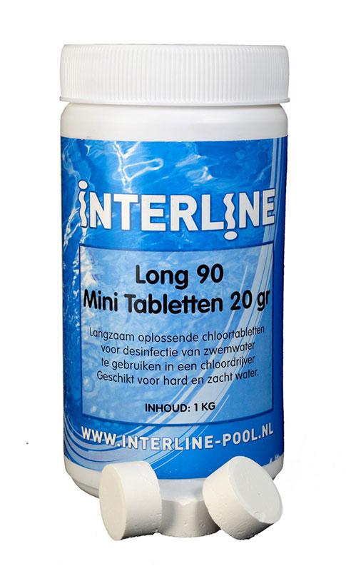 Interline Chloortabletten Long 90 20 gram