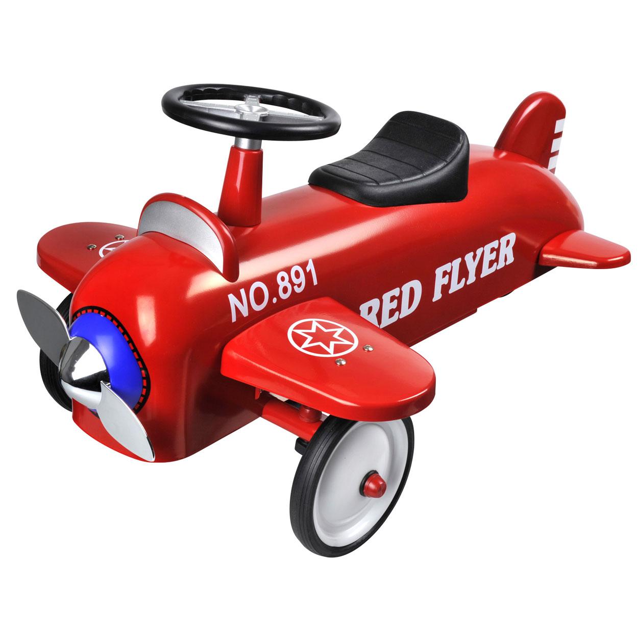 Image of   Ride on Airplane - Rød