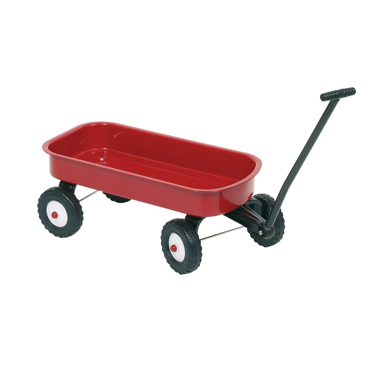 Image of   Metal Wagon - Rød