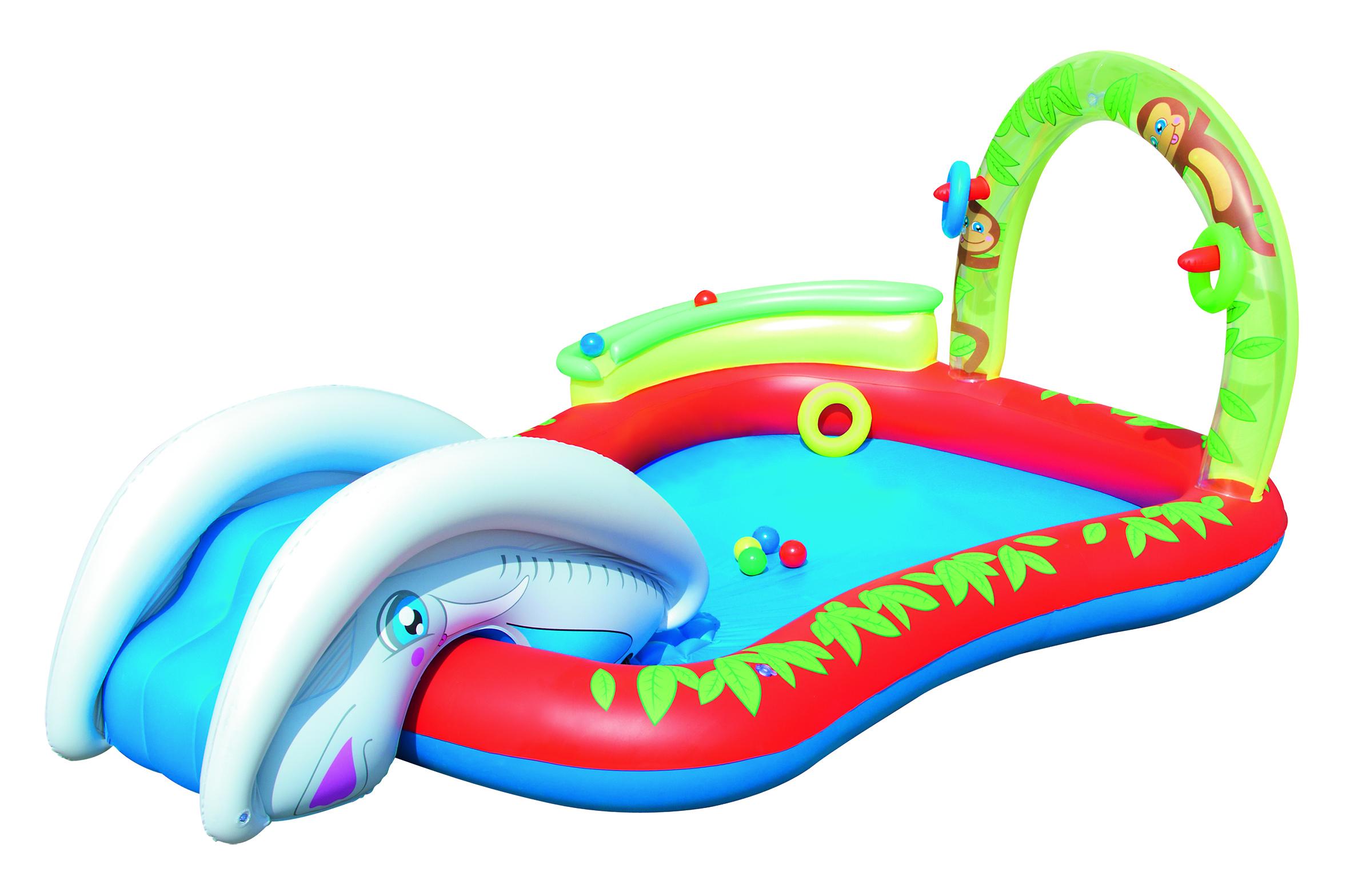 Image of   Bestway Interactive Børne Play Pool - 279 x 173 cm