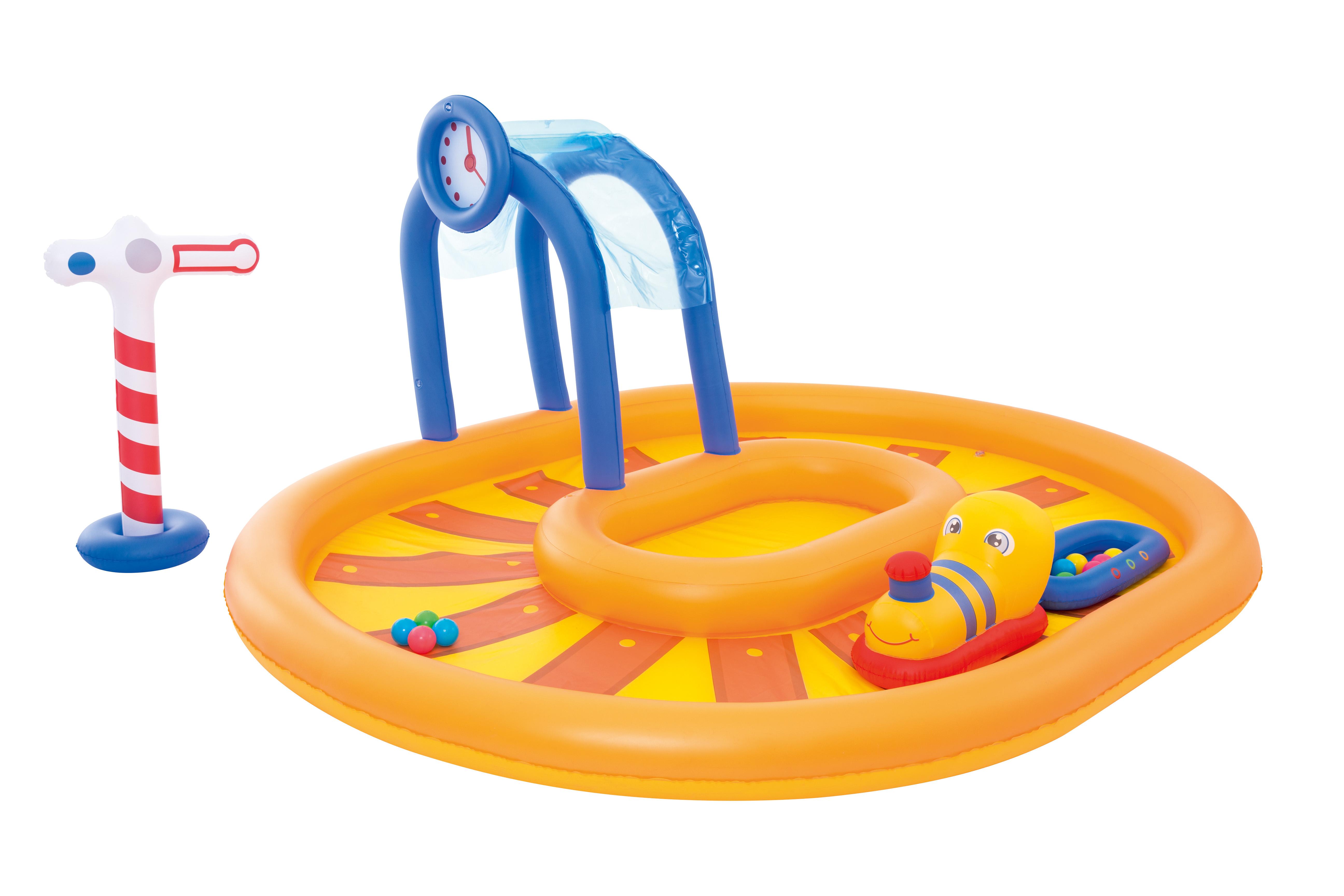 Image of   Bestway Train Børne Play Pool - 285 x 224 cm