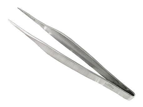 Image of   AAS Splinter Tweezers Rustfrit / Satiné - 11.5cm