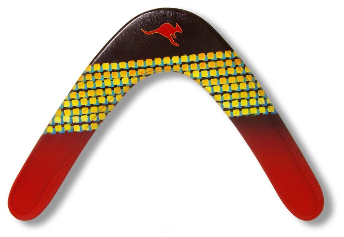 Image of   Boemerang Fan Boomer - venstrehåndede - 32 cm - 57 gr