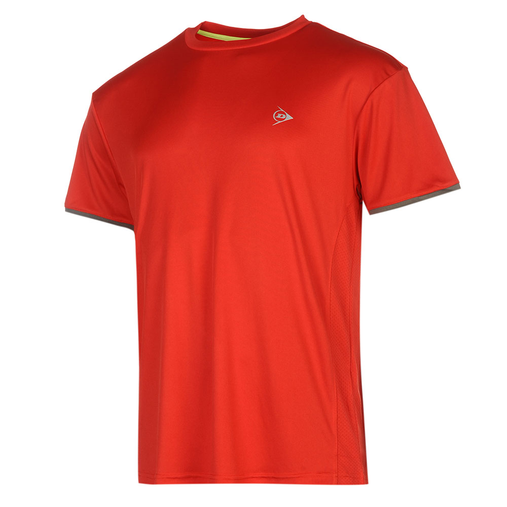Image of   Dunlop AC Club Crew T-shirt Heren - Rood / antraciet