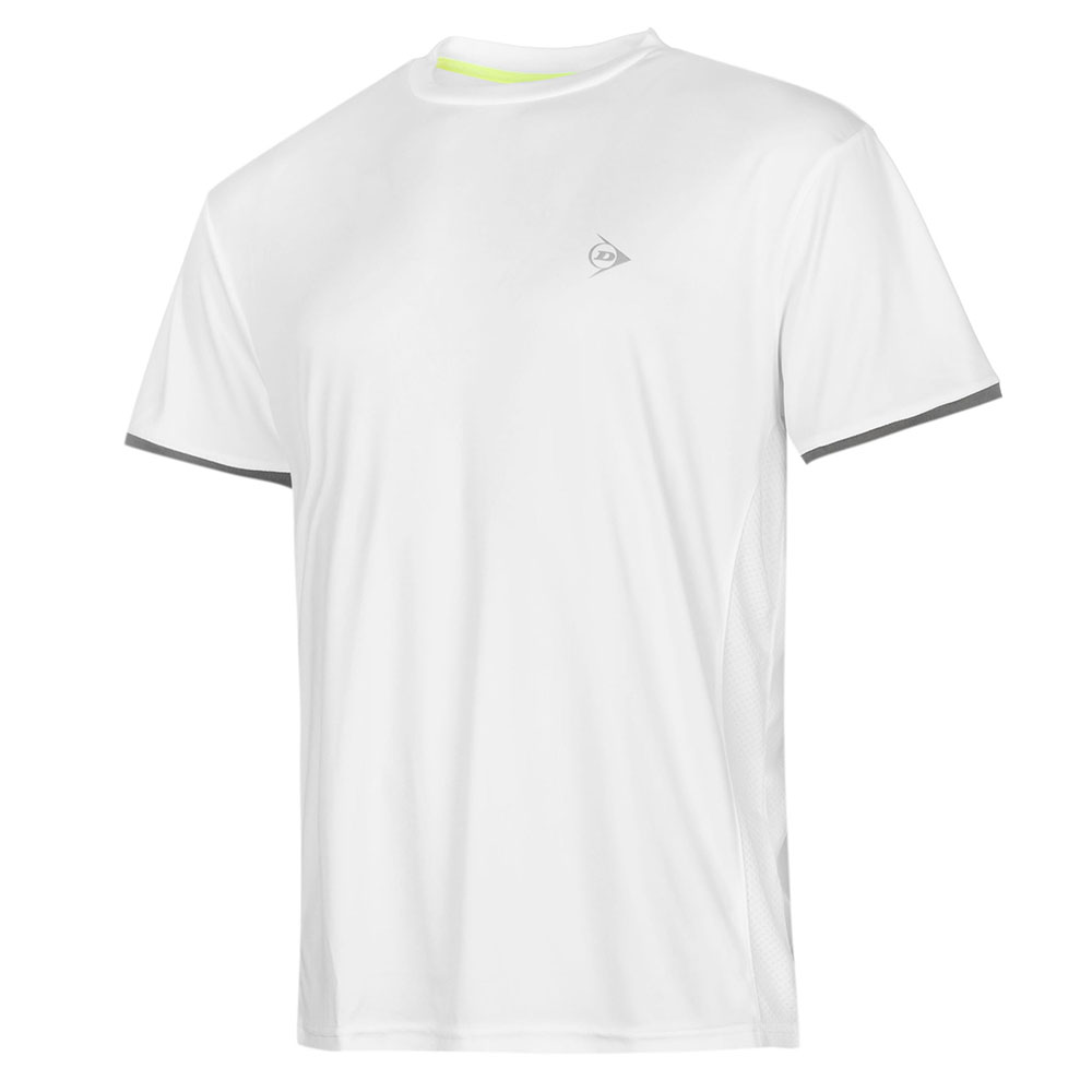 Image of   Dunlop AC Club Crew T-shirt Heren - Wit / antraciet