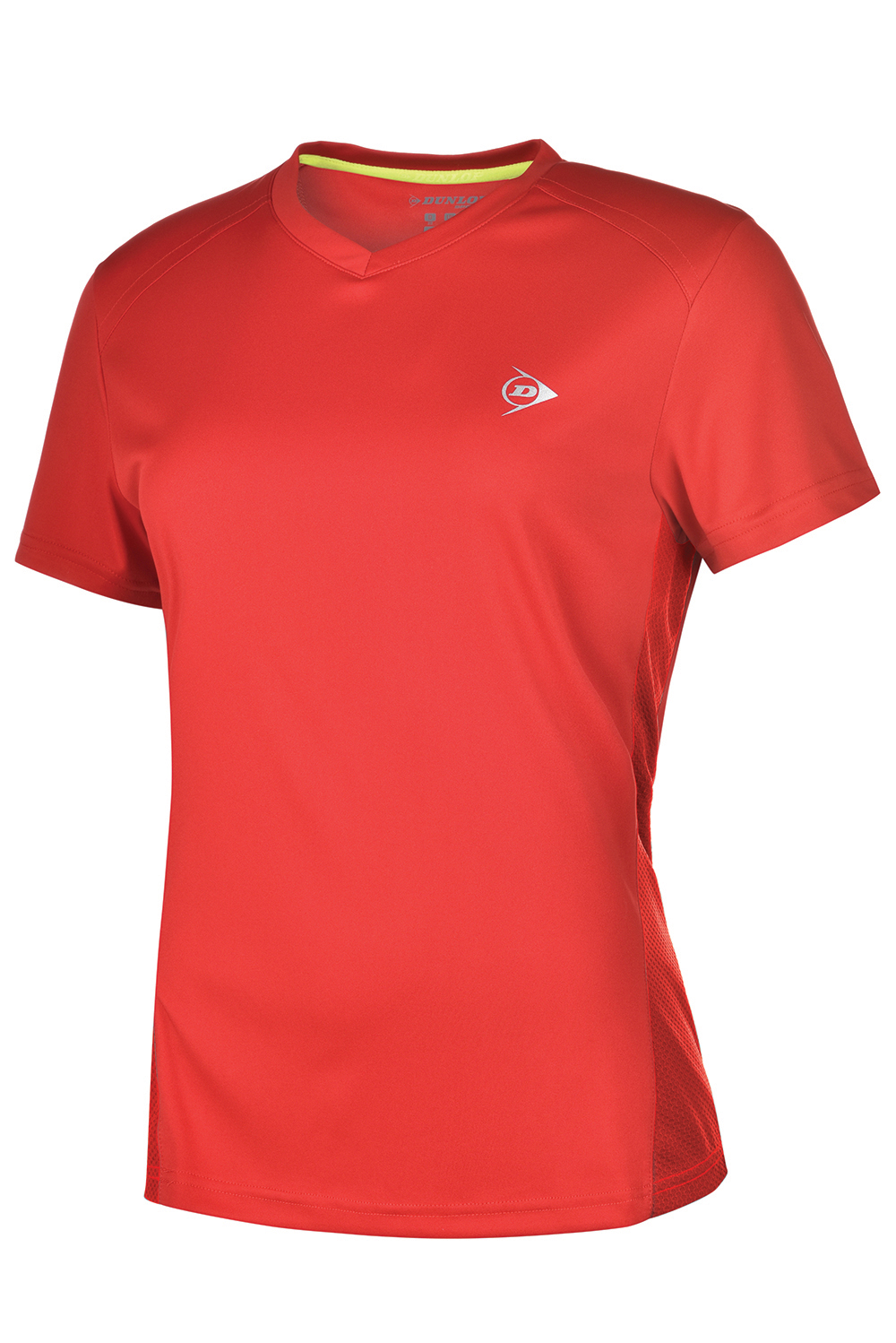 Image of   Dunlop AC Club Crew T-shirt Dames - Rood / antraciet - M
