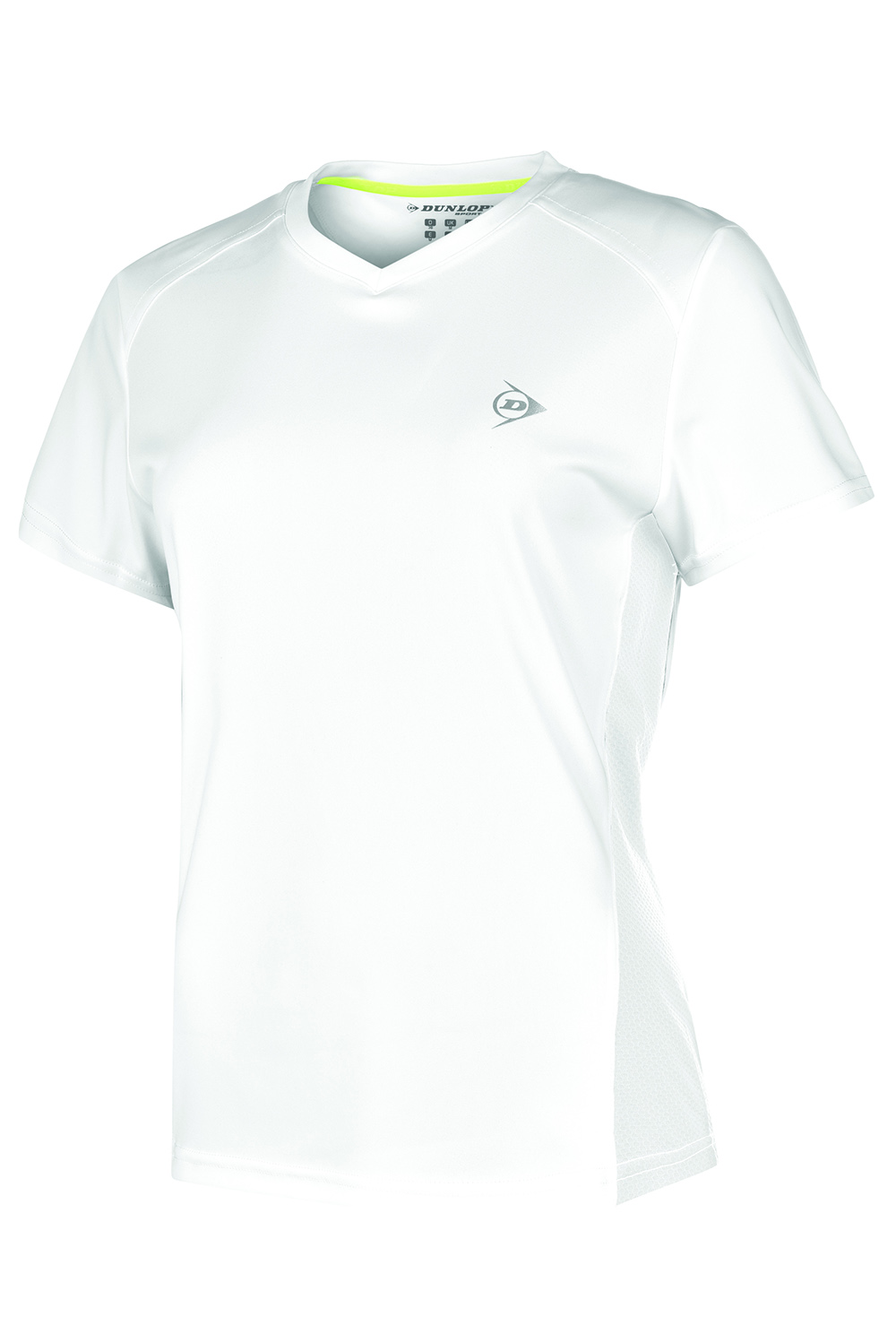Image of   Dunlop AC Club Crew T-shirt Dames - Wit / antraciet - M