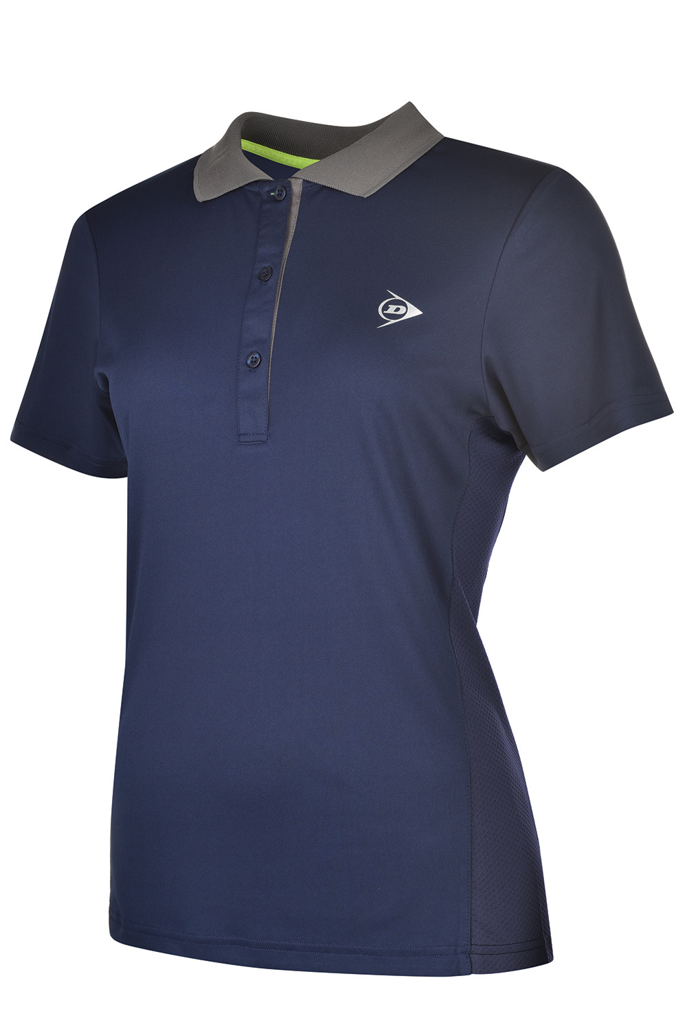 Image of   Dunlop AC Club Polo Dames - Marineblauw / antraciet