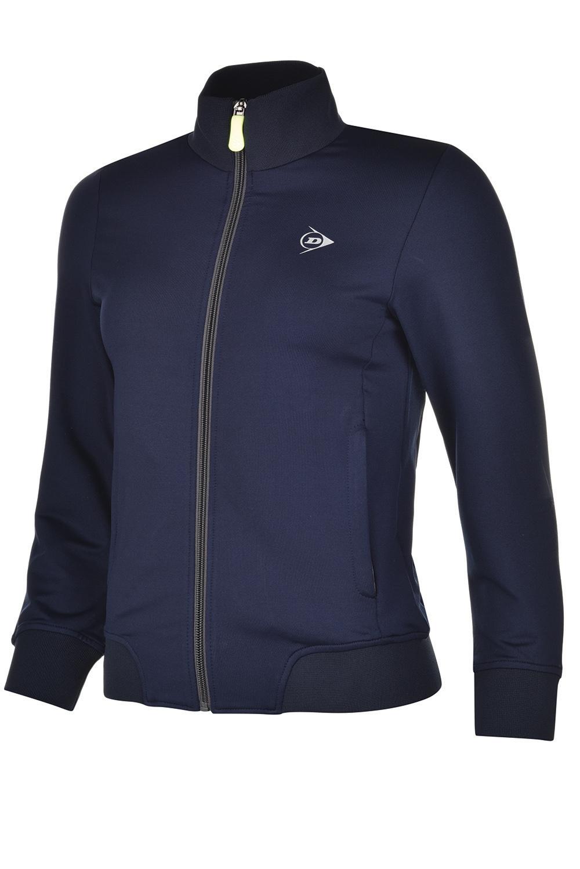 Image of   Dunlop AC Club Trainingsjasje Dames - Marineblauw / antraciet - M